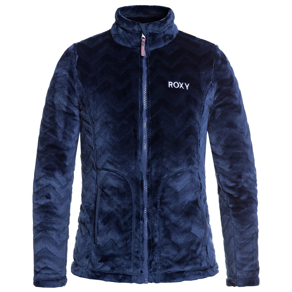 Roxy Igloo Full-Zip Fleece Jacket (Girls') - Medieval Blue