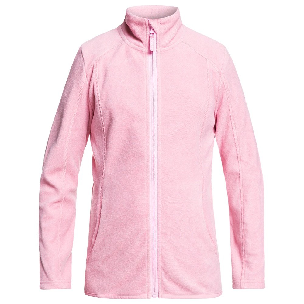 Roxy Harmony Fleece Mid-Layer (Girls') - Prism Pink