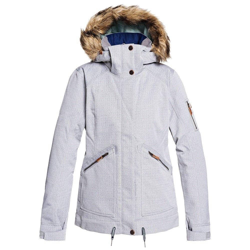 Roxy Meade Insulated Snowboard Jacket (Women's) - Heather Grey