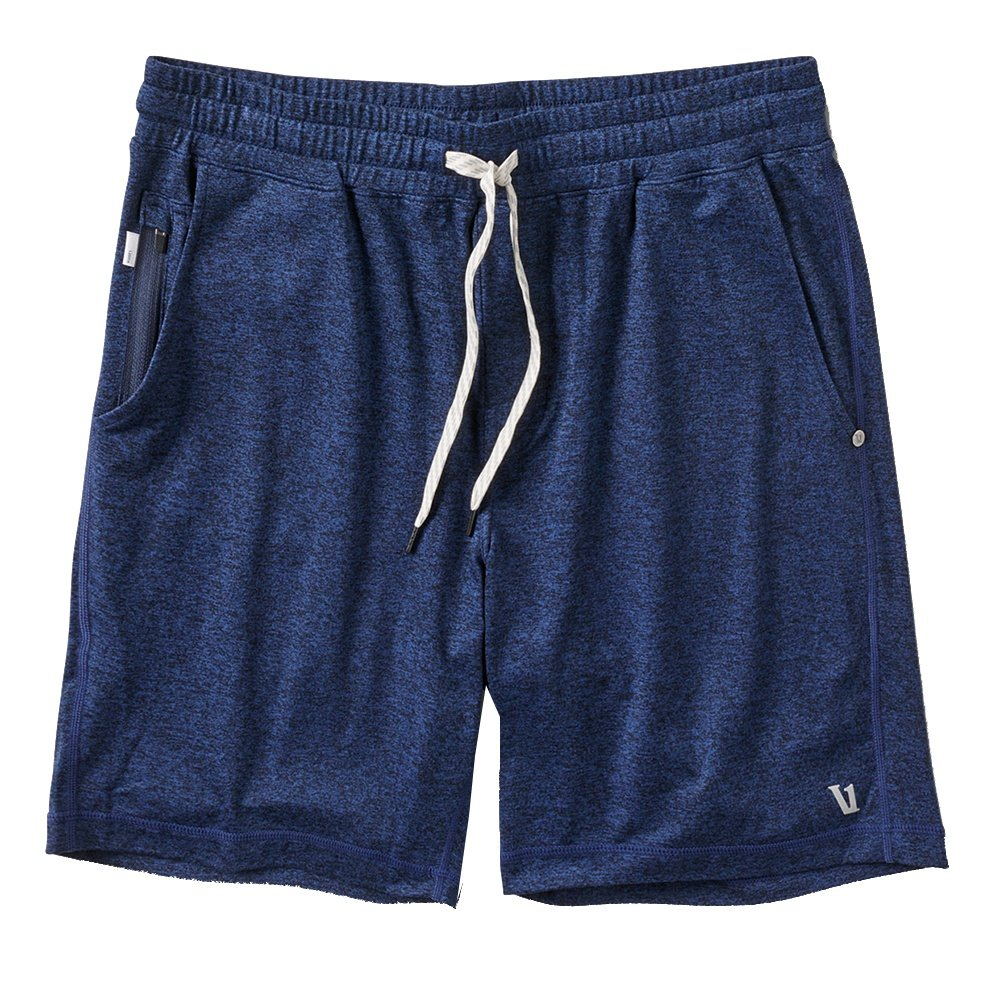 Vuori Ponto Running Short (Men's) - Navy Heather