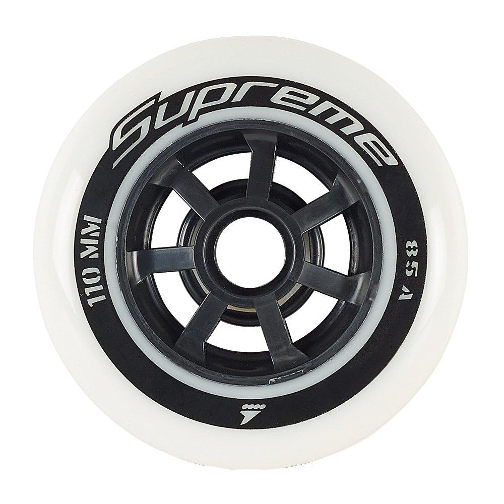Rollerblade Supreme 110 Inline Skate Wheel 6-Pack -