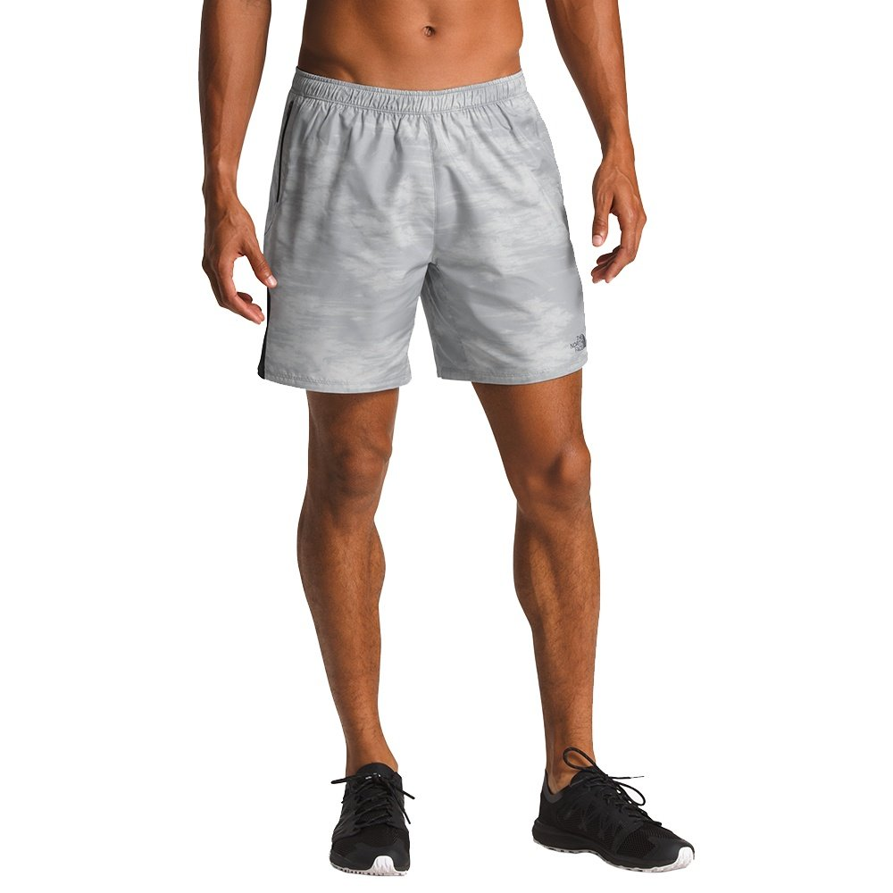 The North Face Ambition Dual Running Short (Men's) - Mid Grey Nebula Print