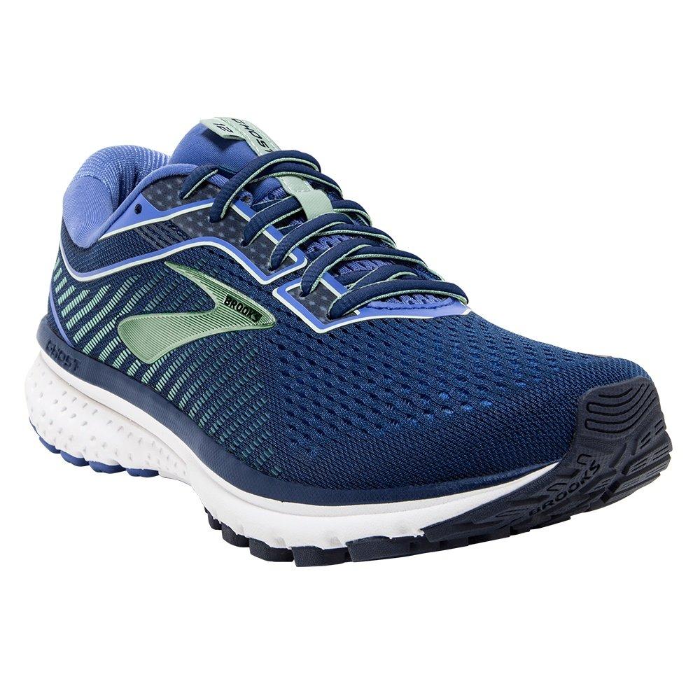 Brooks Ghost 12 Running Shoe (Women's) - Peacoat/Blue/Aqua