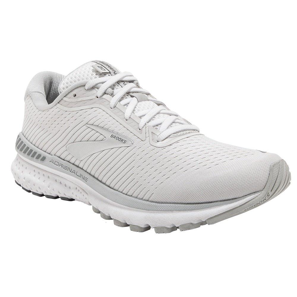 Brooks Adrenaline GTS 20 Running Shoe (Women's) - White/Grey/Silver