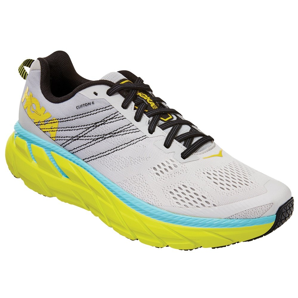 Hoka One One Clifton 6 Running Shoe (Men's) - Lunar Rock/Nimbus Cloud