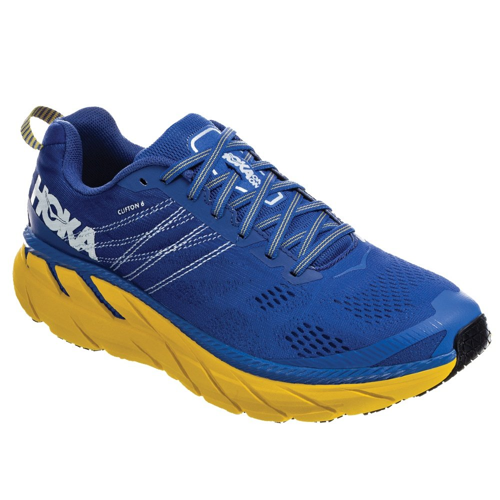 Hoka One One Clifton 6 Running Shoe (Men's) - Nebulas Blue/Lemon