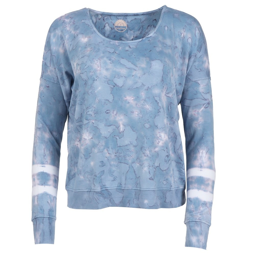 River + Sky Girl Talk Sweatshirt (Women's) - Delphine