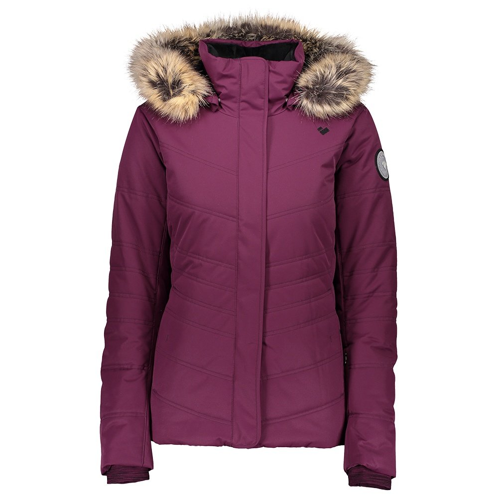 Obermeyer Tuscany II Insulated Ski Jacket (Women's) - Drop the Beet