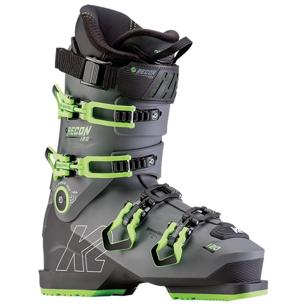 K2 Recon 120 LV Ski Boot (Men's) - Black/Green