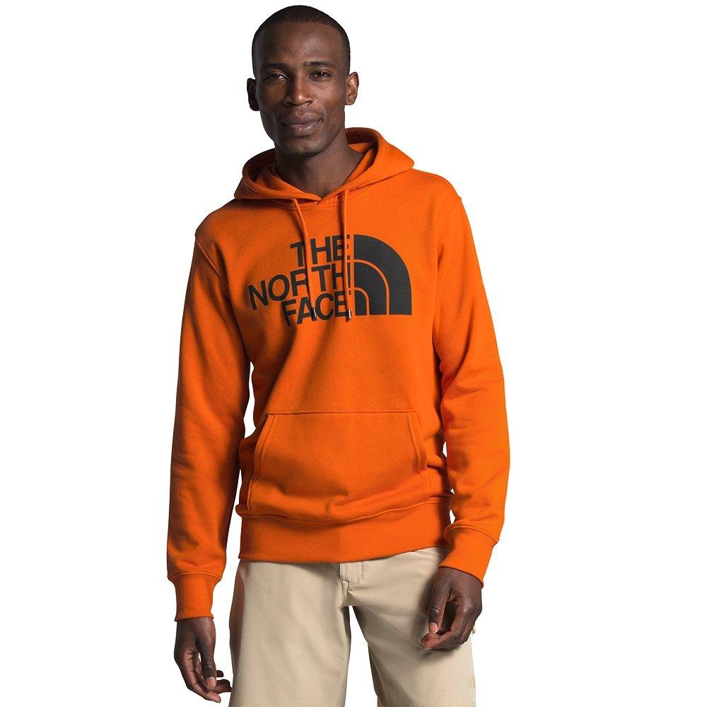 The North Face Half Dome Pullover Hoodie (Men's) - Heritage Orange/TNF Black