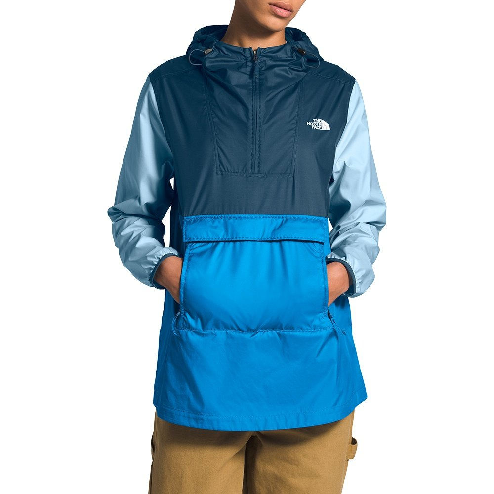 The North Face Fanorack 2.0 Jacket (Women's) - Clear Lake Blue/Blue Wing Teal/Angel Falls Blue