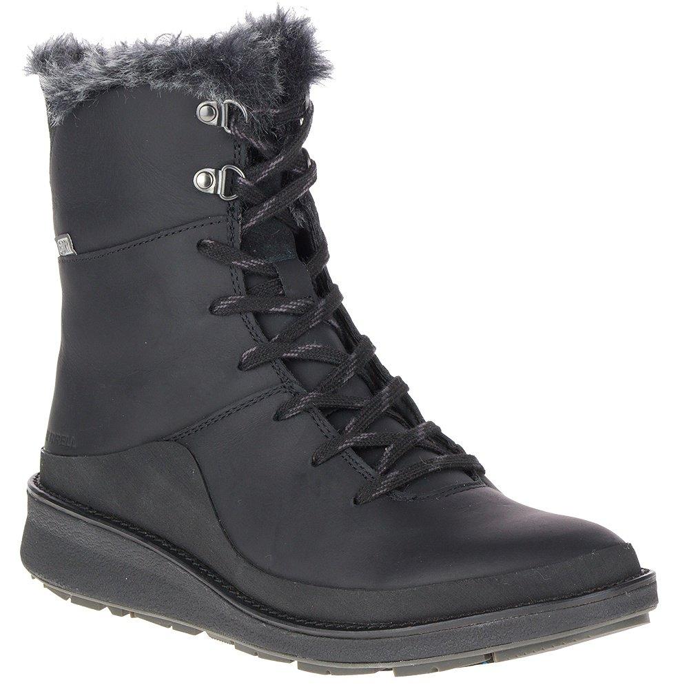 Merrell Tremblant Ezra Lace Waterproof Ice+ Boot (Women's) - Black