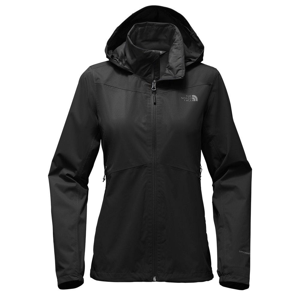 The North Face Resolve Plus Rain Jacket (Women's) - TNF Black