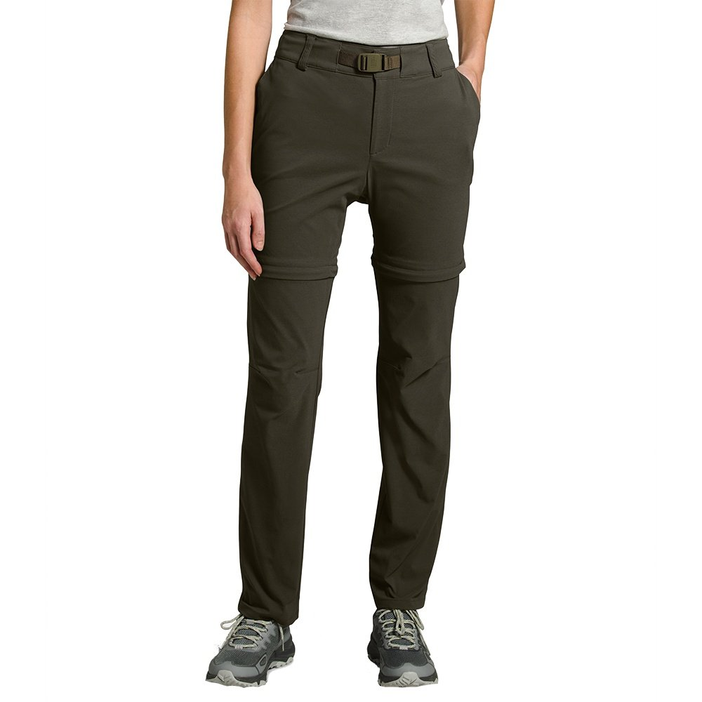 The North Face Paramount Active Convertible Mid-Rise Pant (Women's) - New Taupe Green