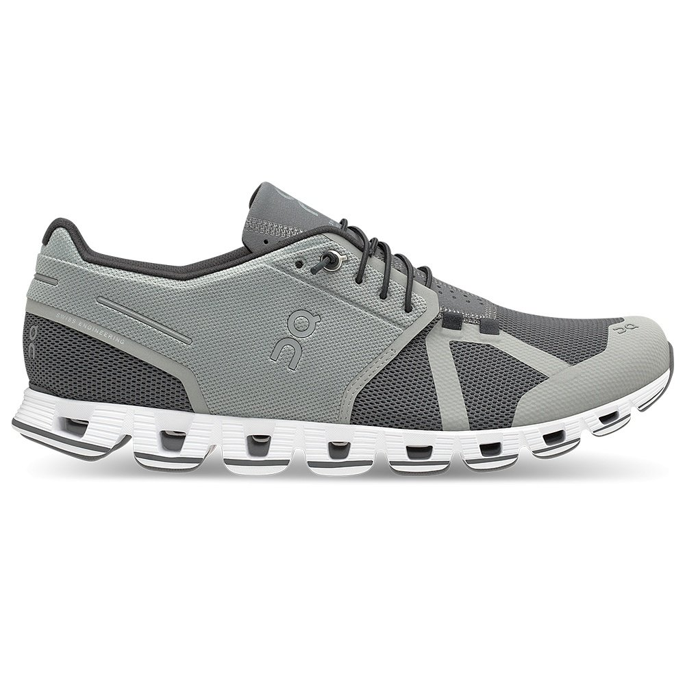 On Cloud Running Shoes (Men's) - Slate/Rock