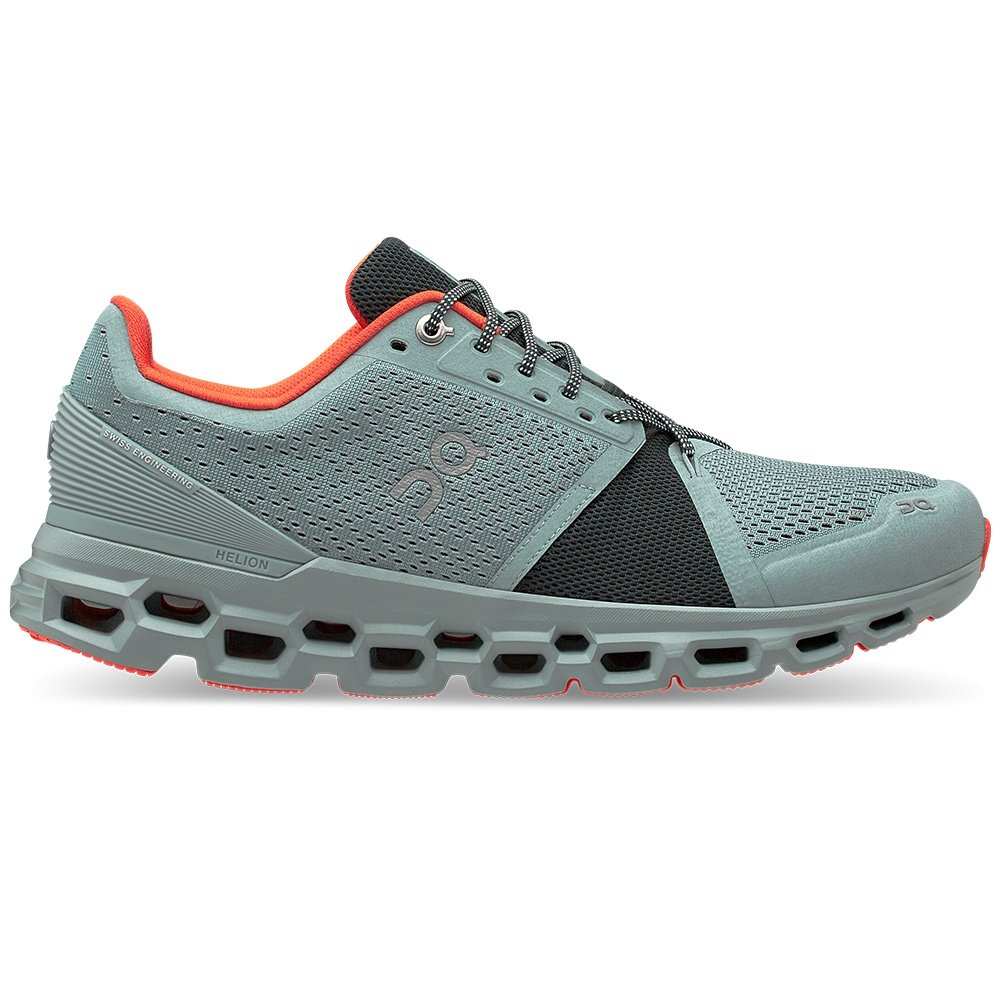 On Cloudstratus Running Shoe (Men's) - Cobble/Ivy