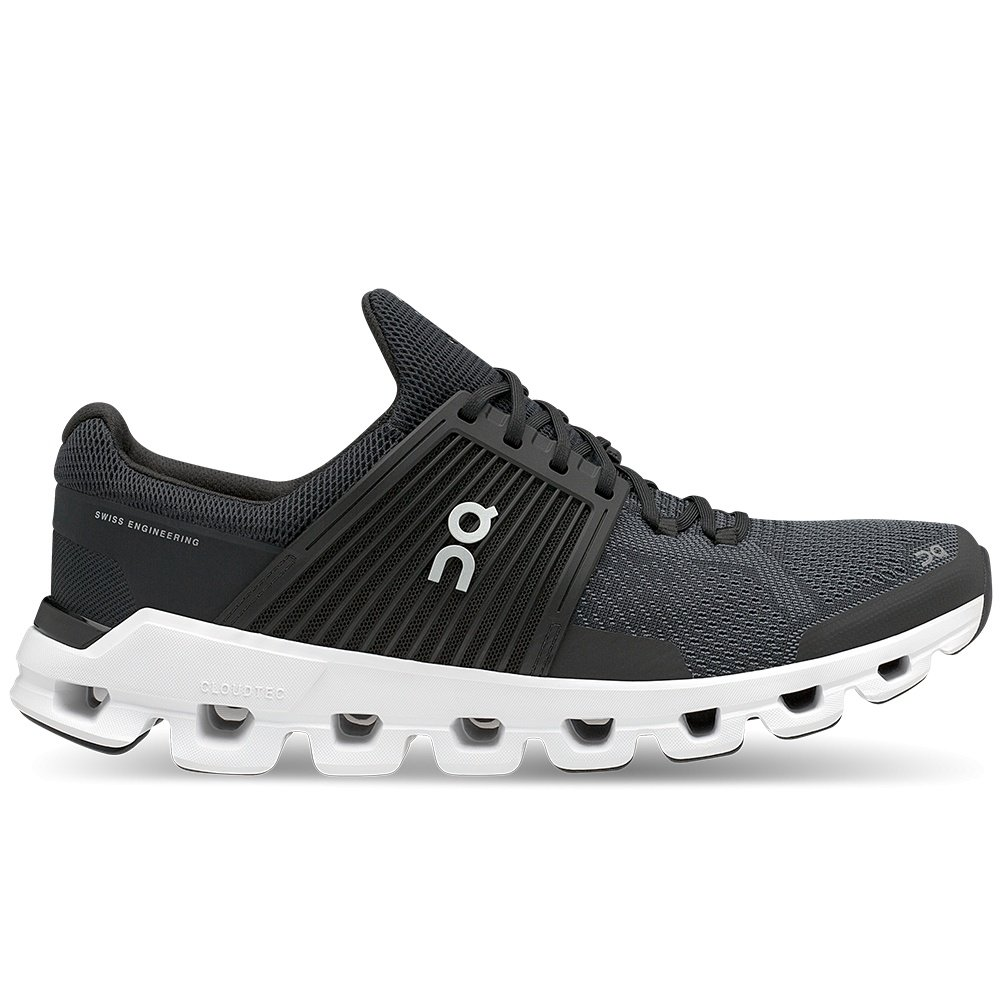 On Cloudswift Running Shoe (Men's) - Black/Rock