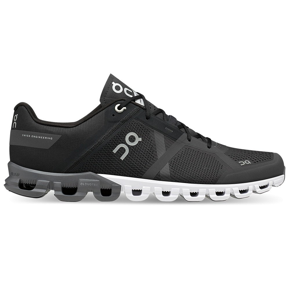 On Cloudflow Running Shoe (Men's) - Black/Asphalt