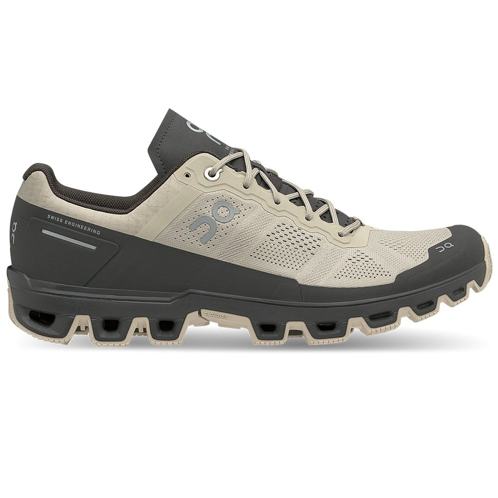 On Cloudventure Trail Running Shoe (Men's) - Sand/Shadow
