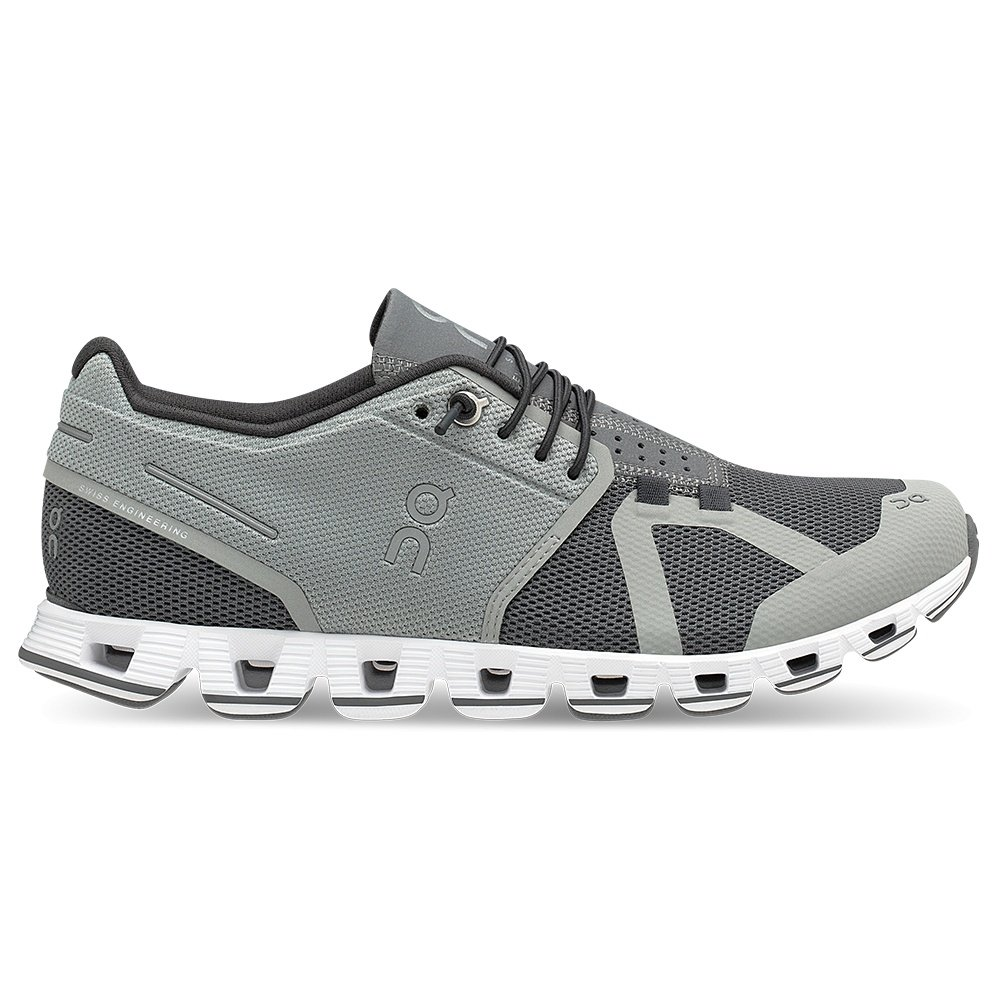 On Cloud Running Shoes (Women's) - Slate/Rock