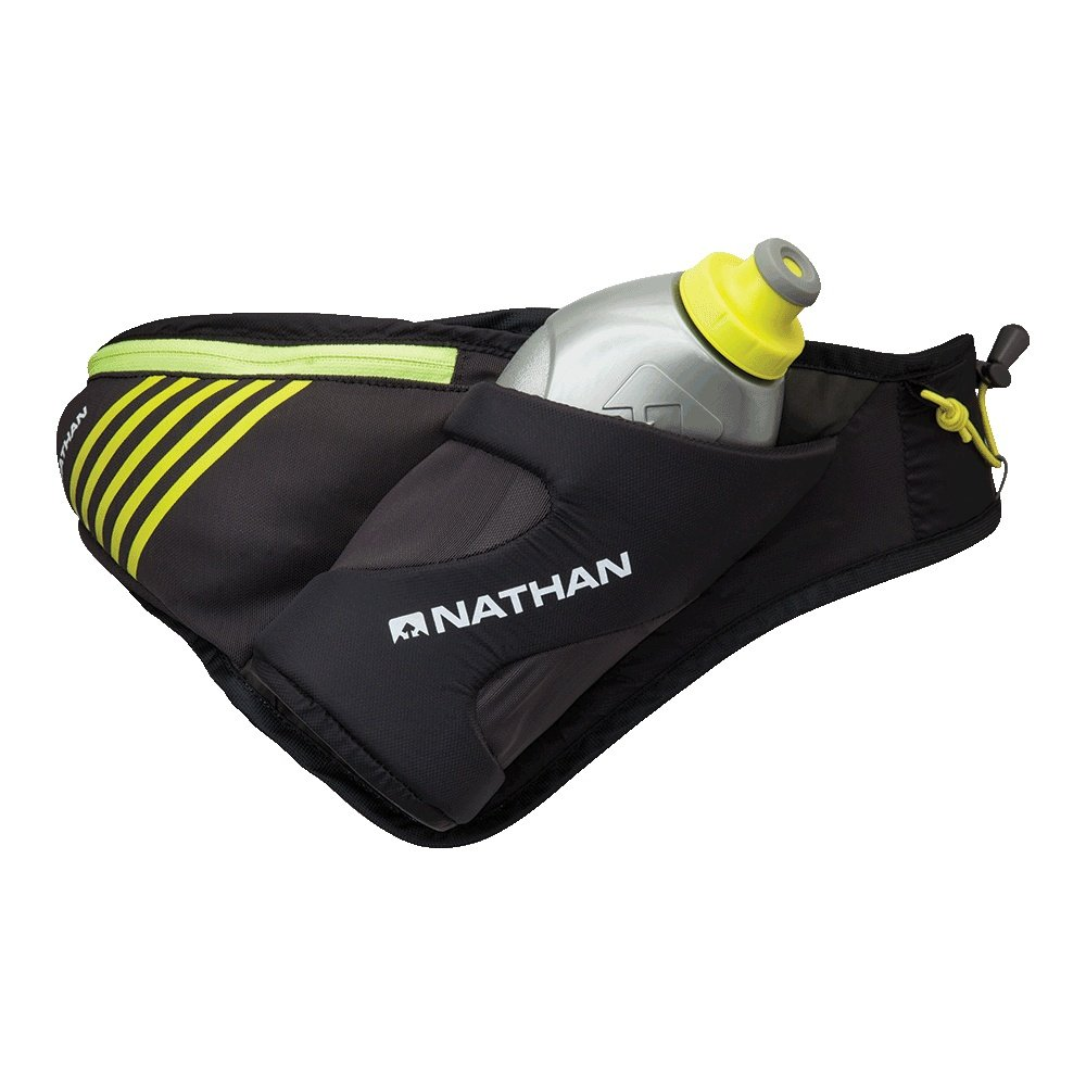 Nathan Peak Hydration Running Belt - Black