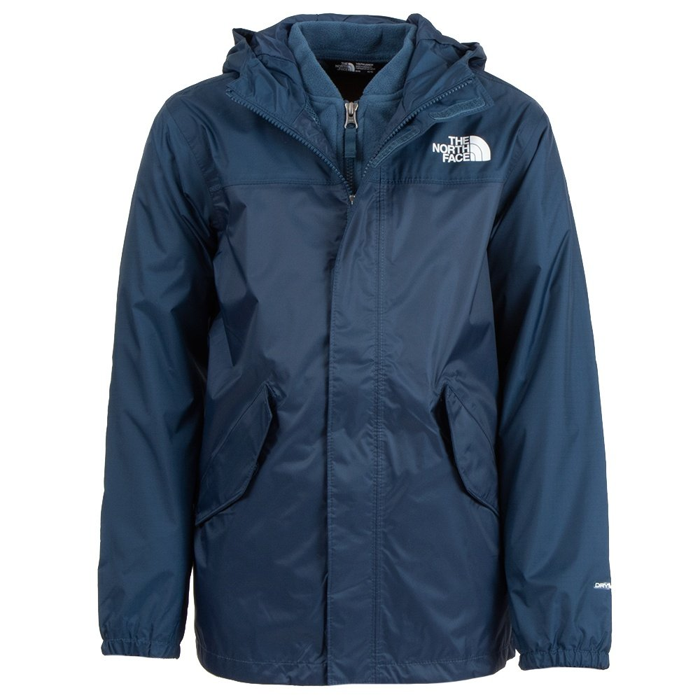 The North Face Stormy Rain Triclimate Jacket (Kids') - Blue Wing Teal