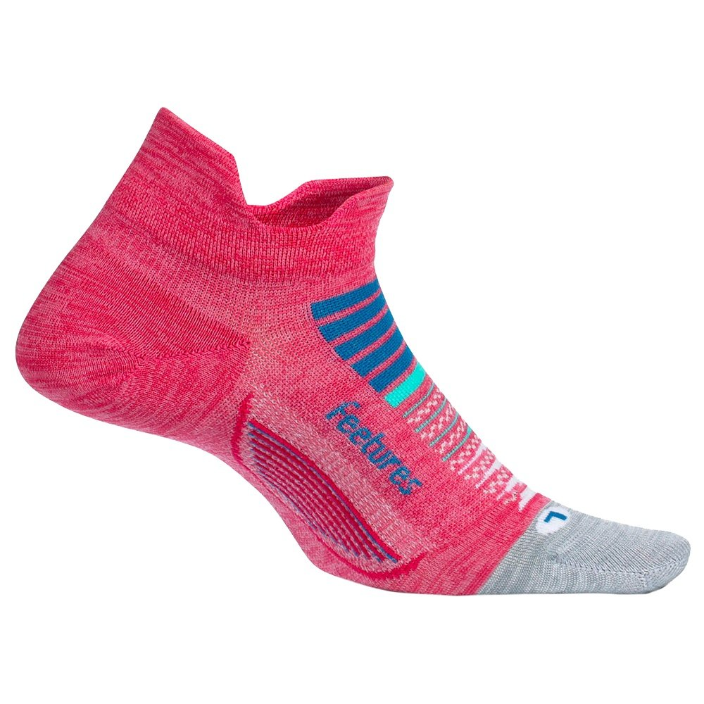 Feetures Elite Ultra Light No Show Running Sock (Men's) - Quasar Pink