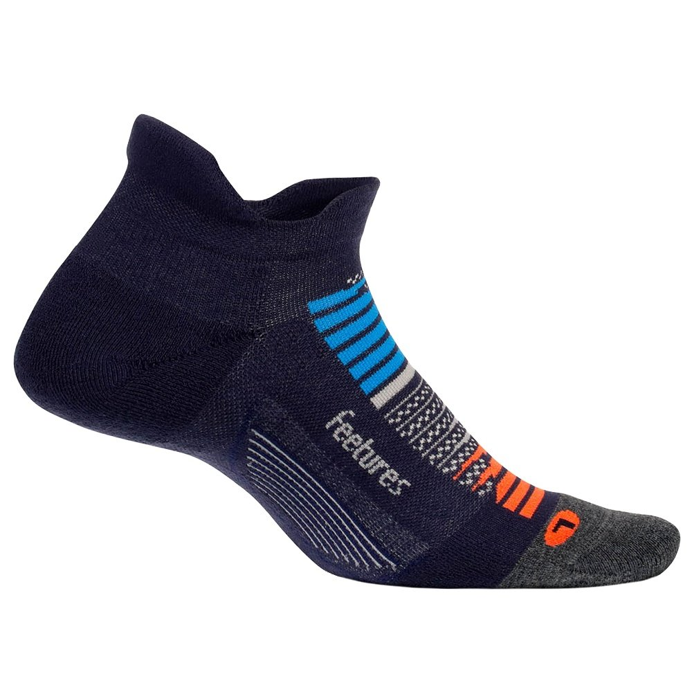 Feetures Elite Max Cushion Running Sock (Men's) - Nebula Navy