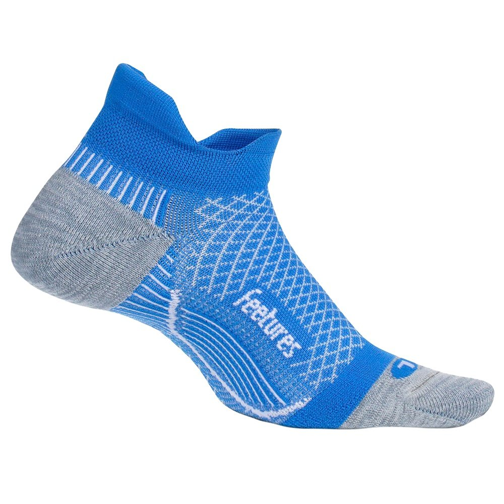 Feetures Plantar Fasciitis Relief No Show Running Sock (Women's) - True Blue
