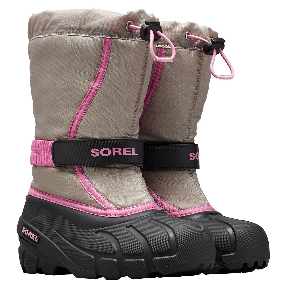 Sorel Flurry Boot (Kids') - Chrome Grey