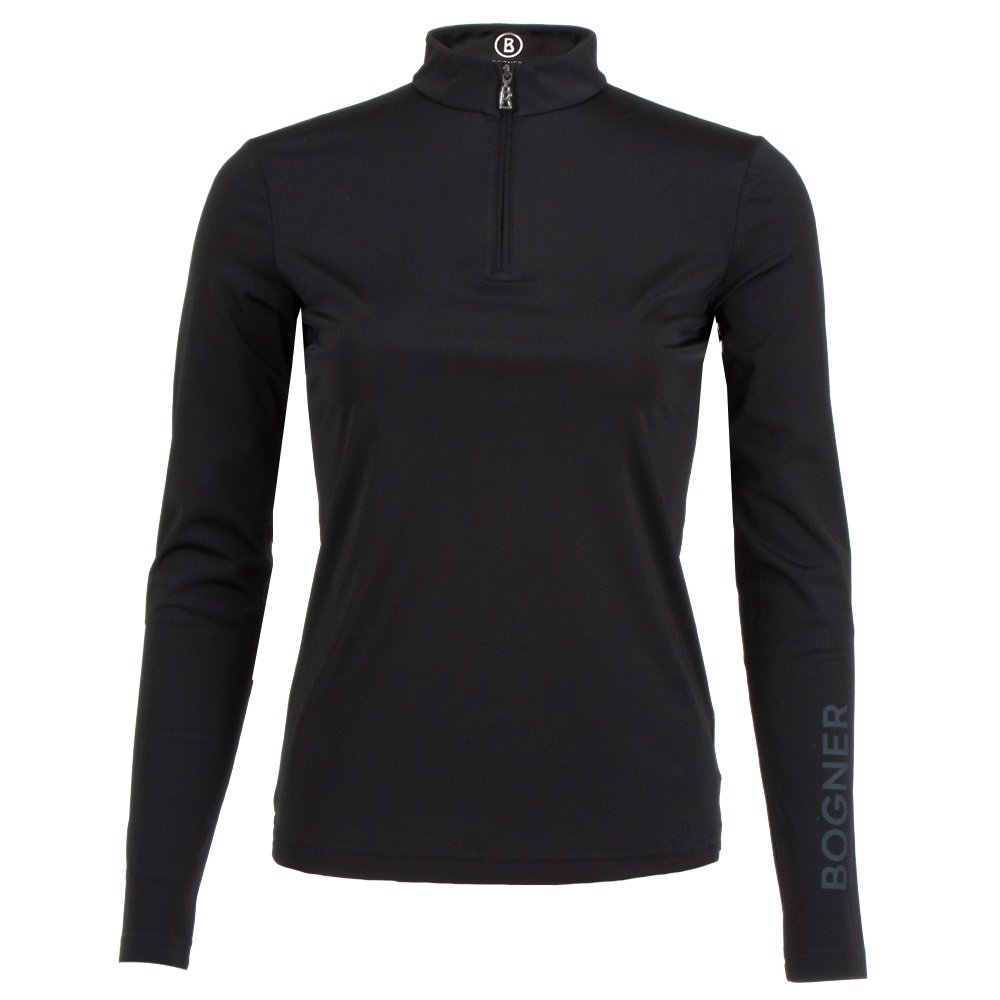 Bogner Macy 1/4-Zip Mid-Layer (Women's) - Black