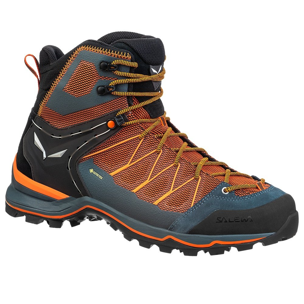 Salewa Mtn Trainer Lite Mid GORE-TEX Hiking Boot (Men's) - Black Out/Carrot