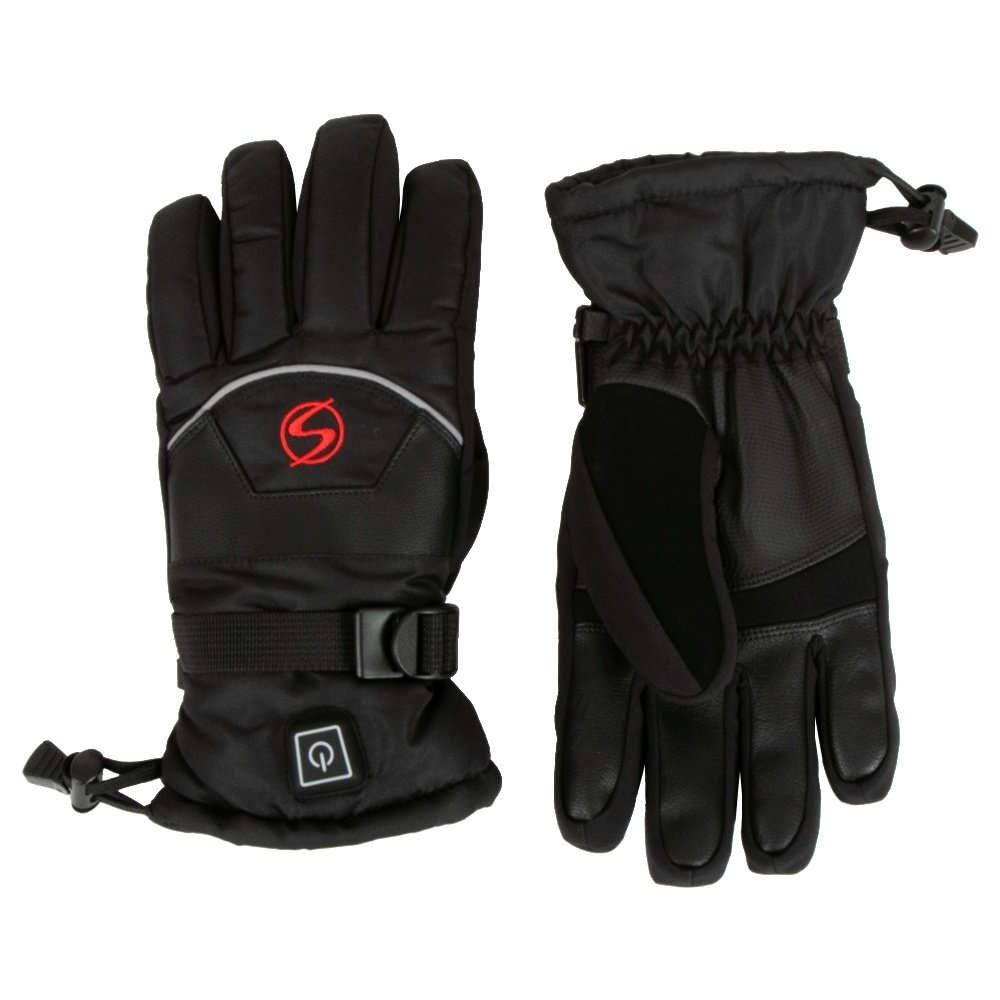 Ski Signature Heated Glove (Women's) - Black