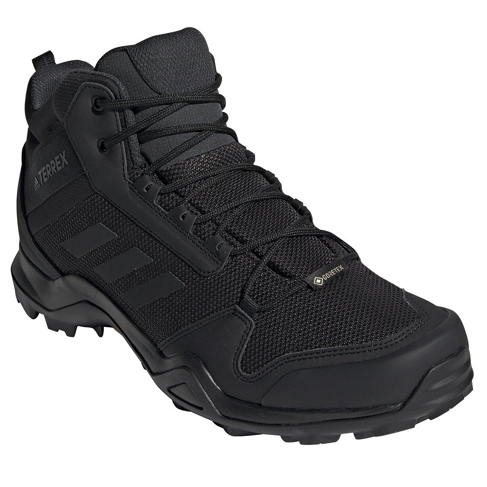 Adidas Terrex AX3 Mid GORE-TEX Hiking Boot (Men's) - Black/ Black