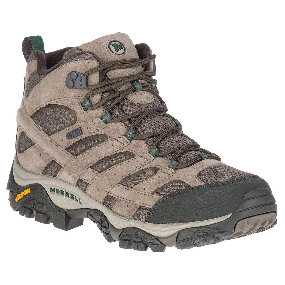 Merrell Moab 2 Mid Waterproof Hiking Boot (Men's) - Boulder