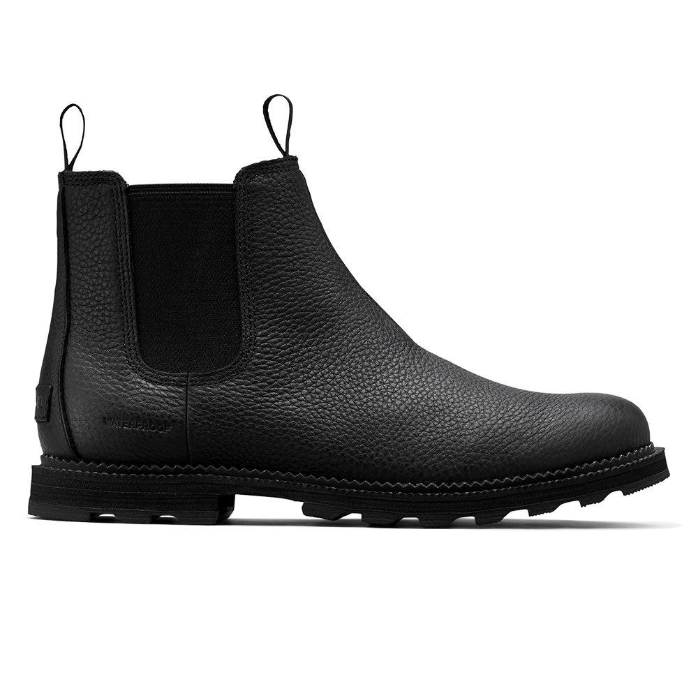 Sorel Madson Chelsea Waterproof Boot (Men's) - Black