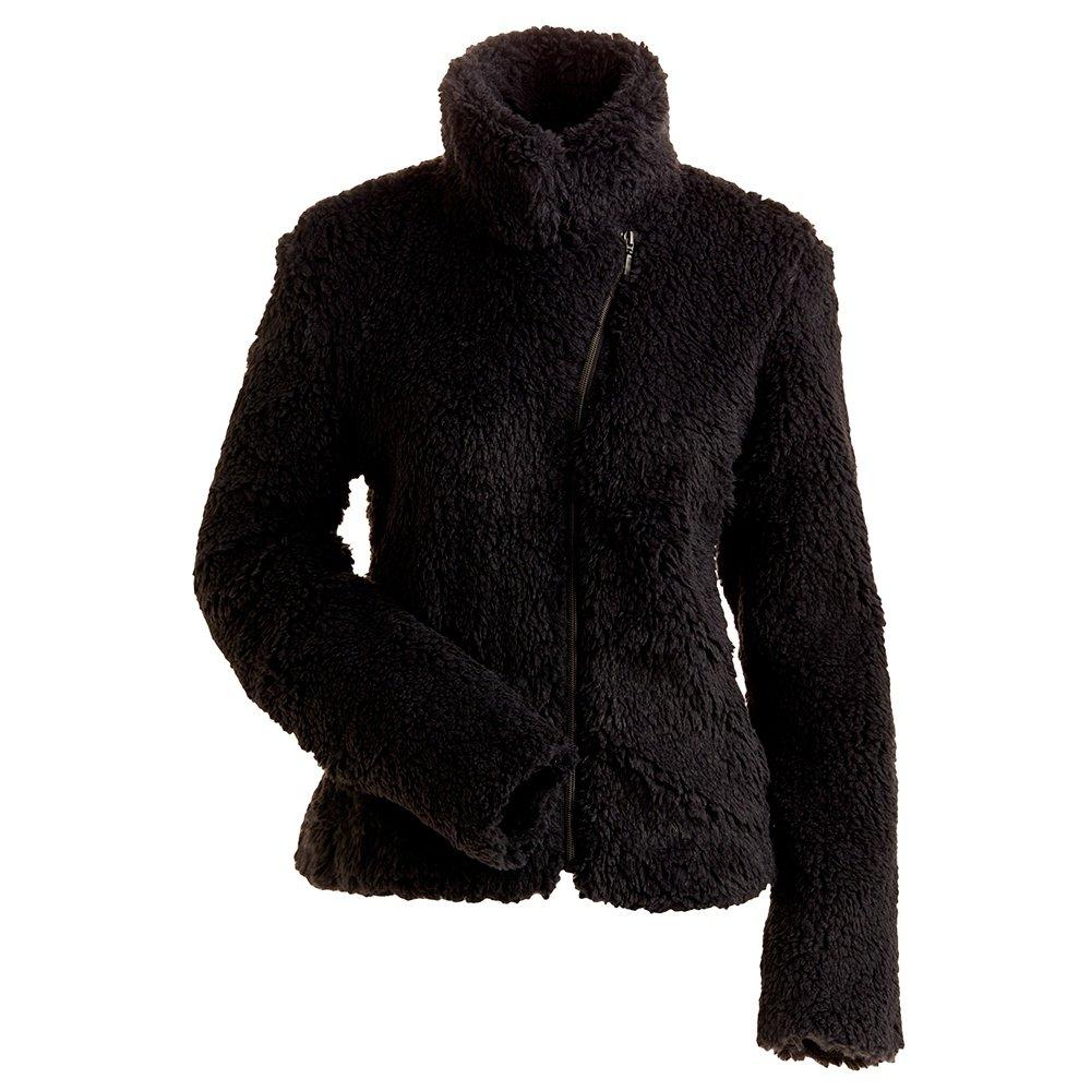 Nils Lisie Short Fuzzy Coat (Women's) - Black
