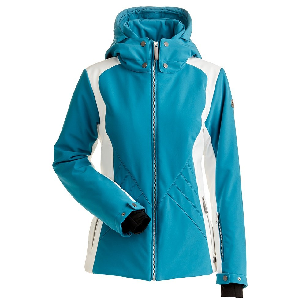Nils Ella Insulated Ski Jacket (Women's) - Teal/White