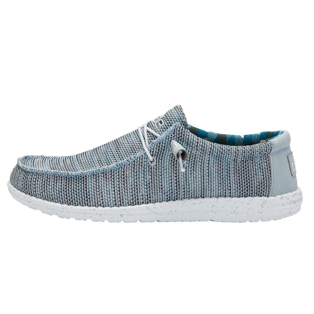 Hey Dude Wally Sox Shoe (Men's) - Ice Grey