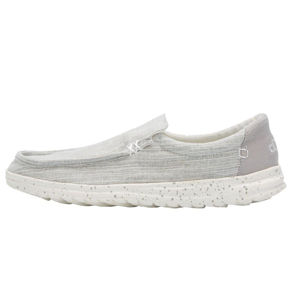 Hey Dude Mikka Chambray Shoe (Men's) - Grey