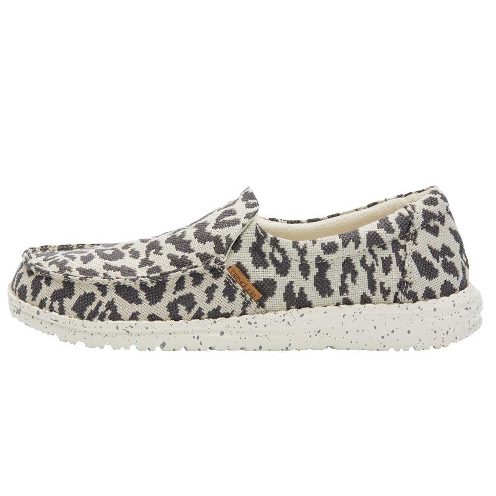 Hey Dude Misty Woven Shoe (Women's) - Cheetah