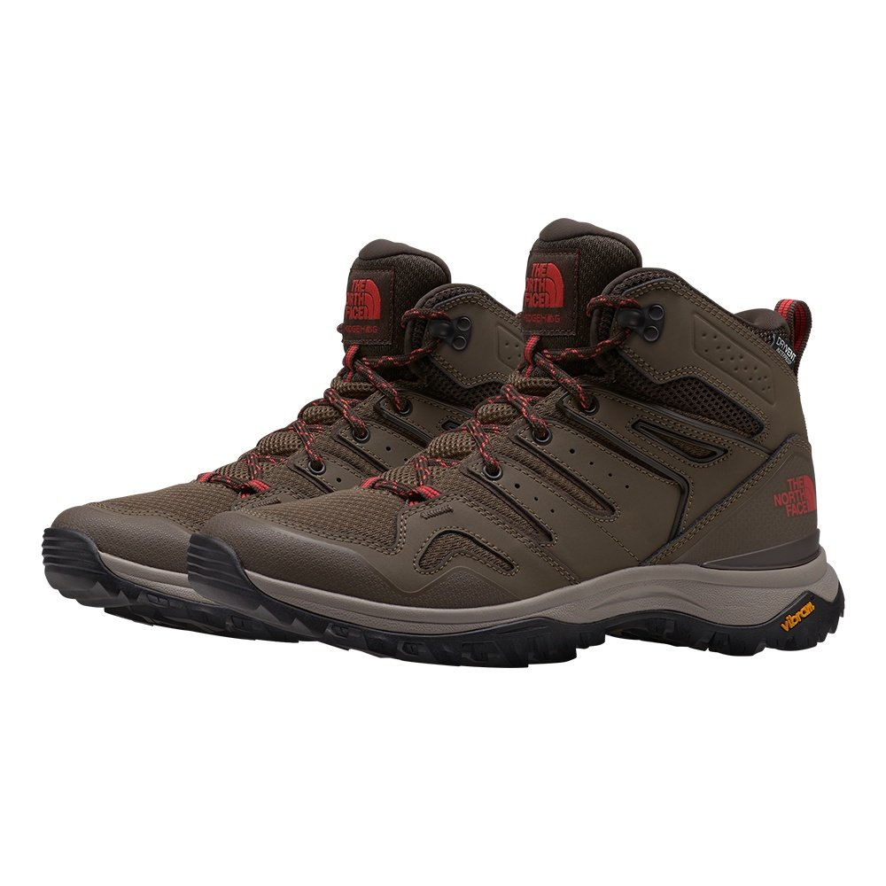 The North Face Hedgehog Fastpack II Mid Waterproof Hiking Boot (Women's) - Bipartisan Brown/Coffee Brown