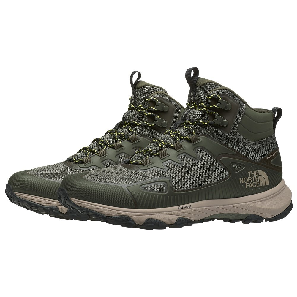 The North Face Ultra Fastpack IV Mid FUTURELIGHT Hiking Boot (Men's) - New Taupe Green/TNF Black