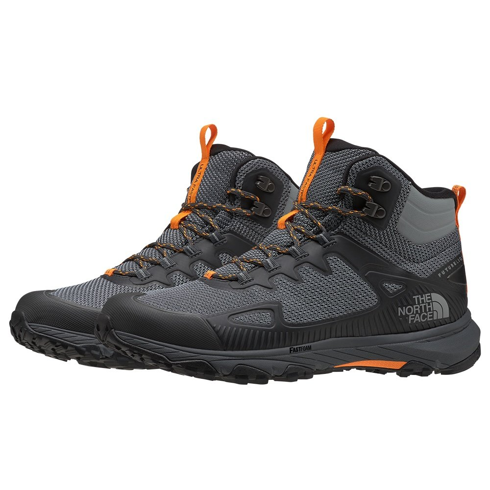 The North Face Ultra Fastpack IV Mid FUTURELIGHT Hiking Boot (Men's) - Dark Shadow Grey/Griffen Grey