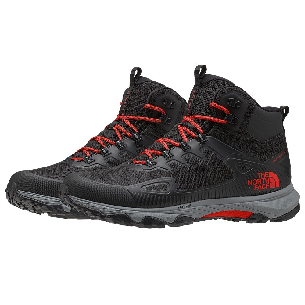 The North Face Ultra Fastpack IV Mid FUTURELIGHT Hiking Boot (Men's) - TNF Black/Fiery Red