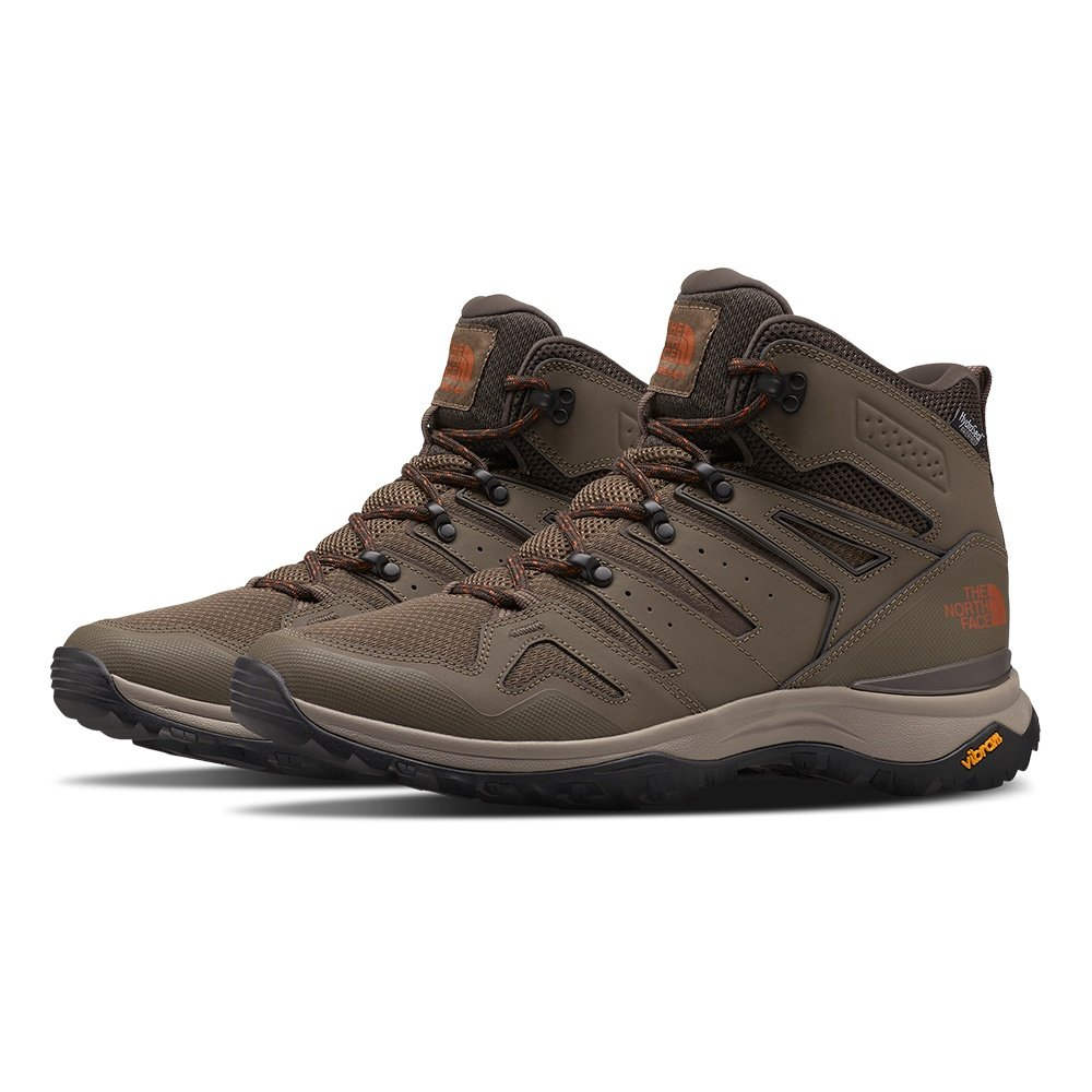The North Face Hedgehog Fastpack II Mid Waterproof Hiking Boot (Men's) - Bipartisan Brown/Coffee Brown