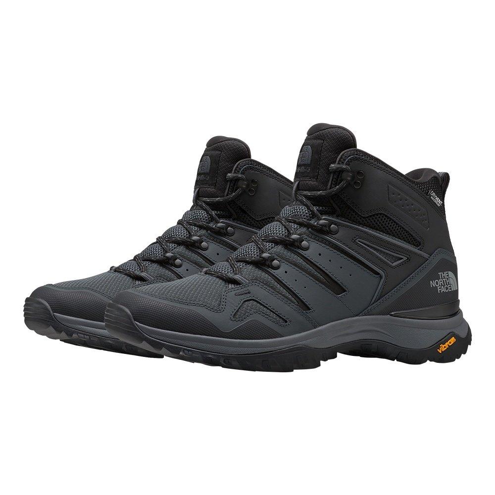 The North Face Hedgehog Fastpack II Mid Waterproof Hiking Boot (Men's) - TNF Black/Dark Shadow Grey