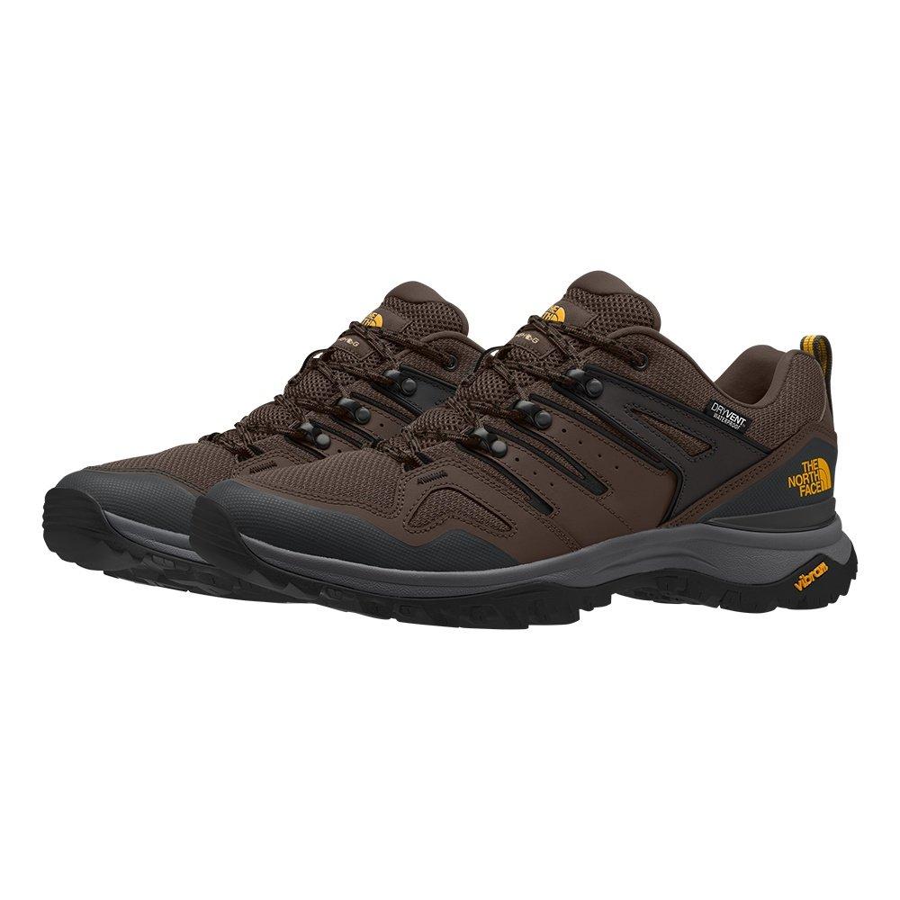 The North Face Hedgehog Fastpack II Waterproof Hiking Shoe (Men's) - Chocolate Brown/ TNF Black