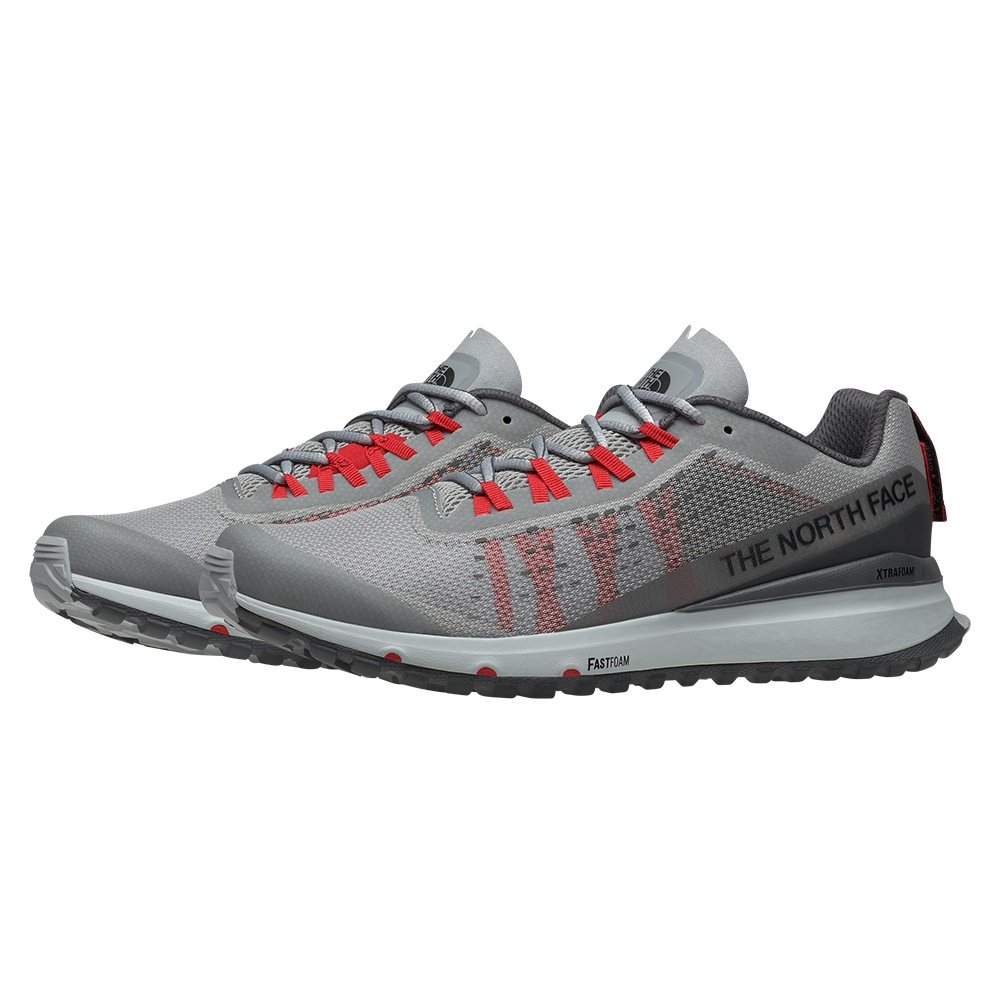 The North Face Ultra Swift Trail Running Shoe (Men's) - High Rise Grey/Dark Shadow Grey