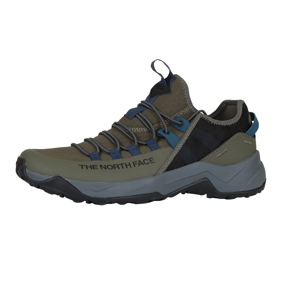 The North Face Trail Escape Edge Hiking Shoe (Men's) - New Taupe Green/Asphalt Grey